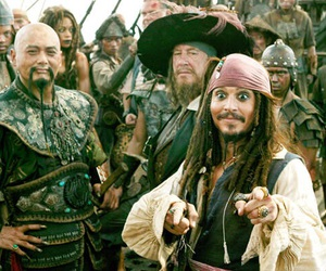 jack sparrow, jack, and pirates of the caribbean image