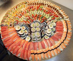delicious, food, and sushi image