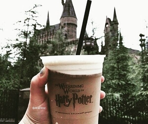 harry potter, hogwarts, and drink image