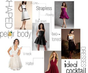 dresses, coctail dress, and formal image