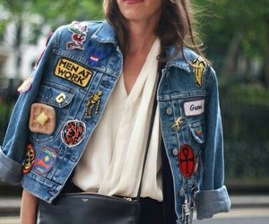 style, jacket, and denim image