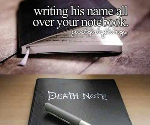 death note, funny, and anime image
