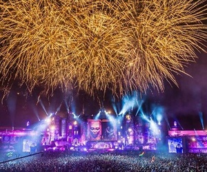 dj, festival, and Tomorrowland image