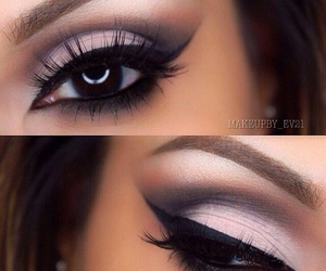makeup, eyes, and make up image