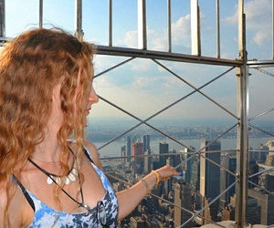 cool, newyork, and redhair image