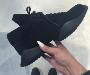 shoes, black, and sneakers image