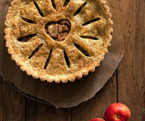 apple, Apple Pie, and pastry image