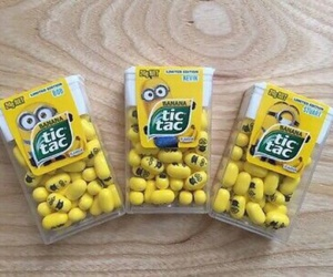 minions, food, and tic tac image