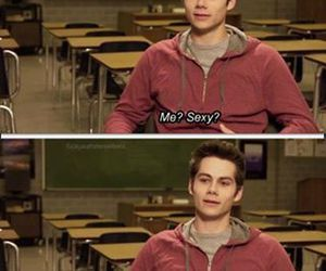 dylan o'brien, teen wolf, and sexy image
