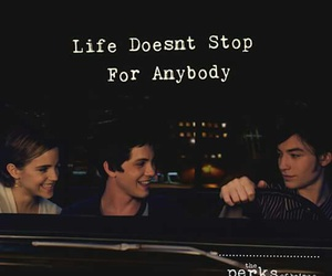 the perks of being a wallflower, movie, and quote image