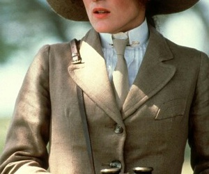 meryl streep and out of africa image