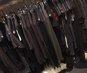 aesthetic, black clothes, and pale image