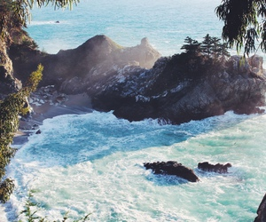 ocean, beach, and nature image