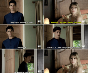 scream, carlson young, and mitzgerald image