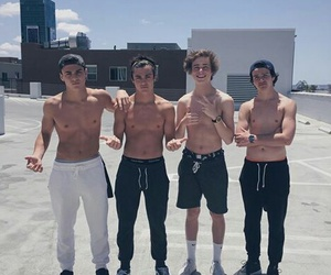 aaron carpenter, jack dail, and grayson dolan image