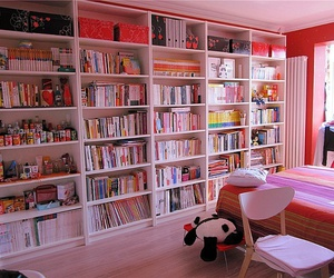 book, room, and cute image