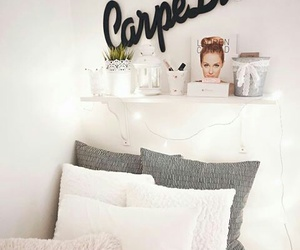 bed, bedroom, and lauren conrad image