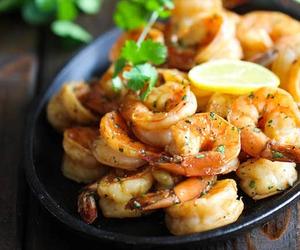 food, shrimp, and yummy image