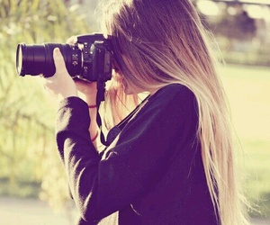 girl, photo, and photography image