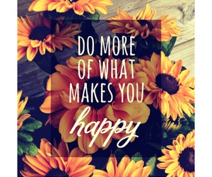 flower, happy, and quote image