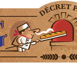 baguette, doodle, and google image