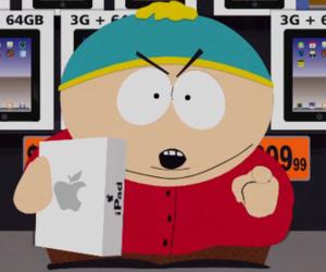 apple, eric cartman, and South park image