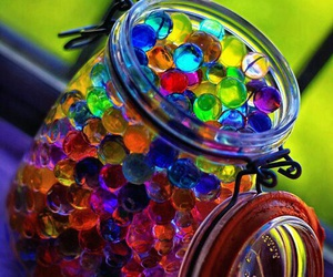 balls, beautiful, and colors image