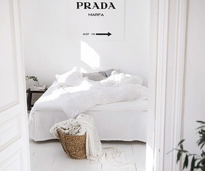 white, home, and Prada image