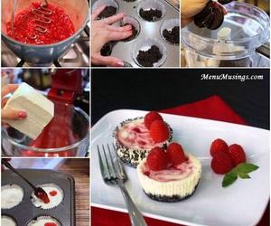 diy, cheesecake, and food image