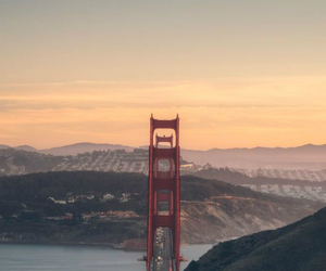 architecture, california, and city image