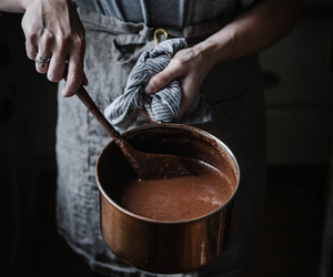 chocolate, cooking, and kitchen image