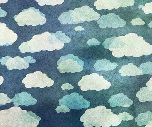 clouds, blue, and background image