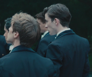 olly alexander, matthew beard, and sam claflin image
