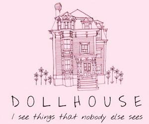 pink, dollhouse, and melanie martinez image