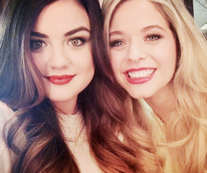 bffs, women, and lucy hale image