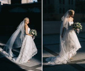 wedding, bride, and the vampire diaries image