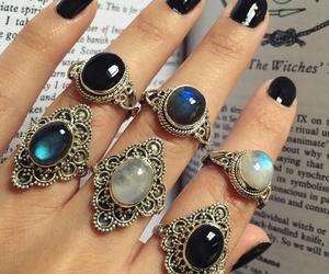black, fashion, and jewellery image