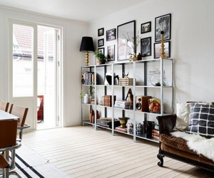 bookcases, bookshelves, and home decor image
