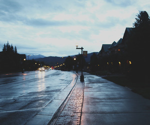 street, grunge, and road image