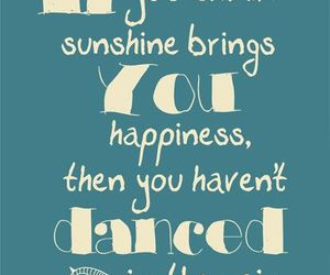 quote, rain, and sunshine image
