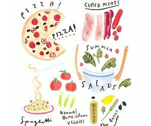 draw, food, and overlay image
