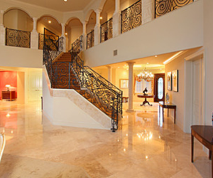 home, interior design, and staircase image