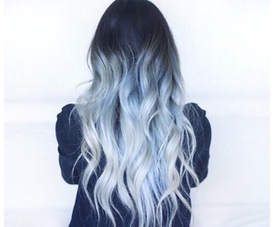 blue hair, goals, and blue image