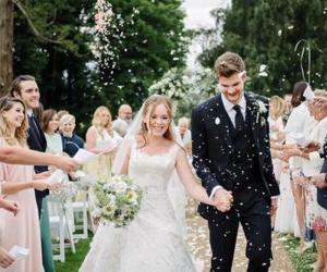 wedding, tanya burr, and jim chapman image