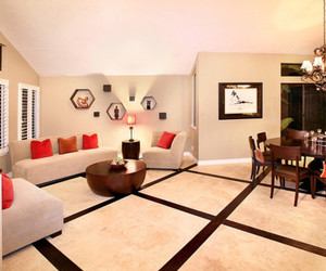 interior design, interiors, and living room image