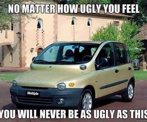 car, ugly, and funny image