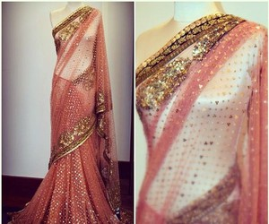fashion, gold, and indian image