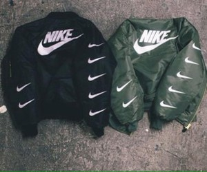 nike, black, and green image