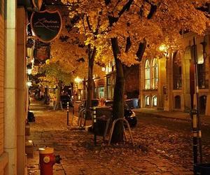 autumn, cozy, and city image