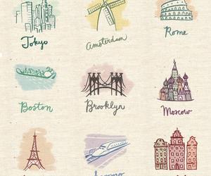 art, paris, and rome image